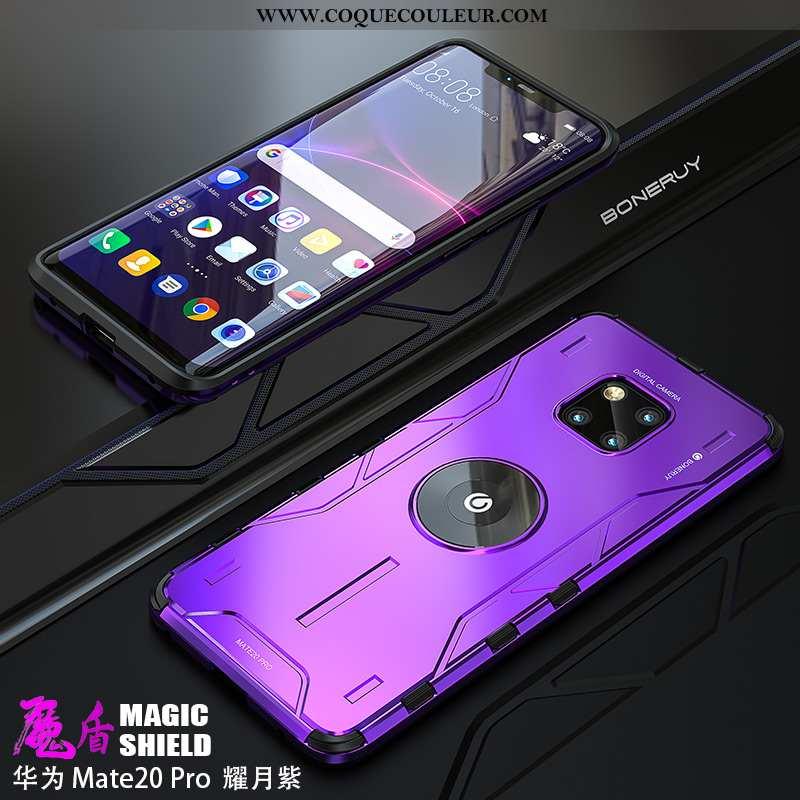 Étui Huawei Mate 20 Pro Légère Personnalité Luxe, Coque Huawei Mate 20 Pro Silicone Incassable Viole