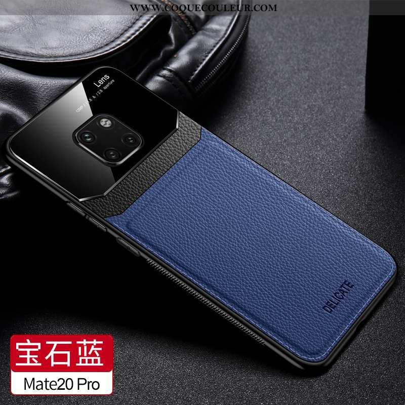 Coque Huawei Mate 20 Pro Personnalité Téléphone Portable Business, Housse Huawei Mate 20 Pro Cuir Pr