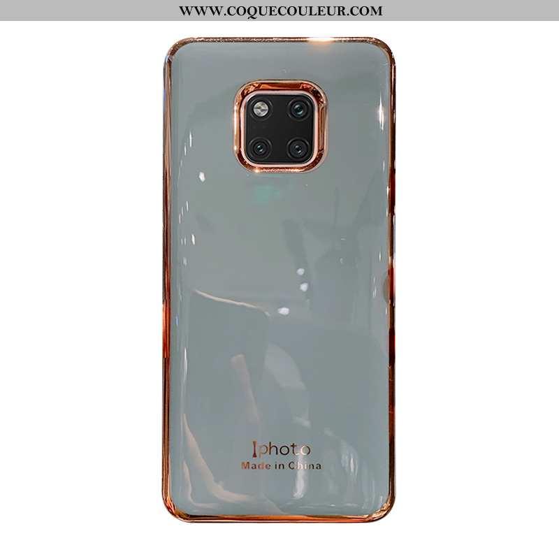 Housse Huawei Mate 20 Pro Protection Téléphone Portable Couleur Unie, Étui Huawei Mate 20 Pro Fluide