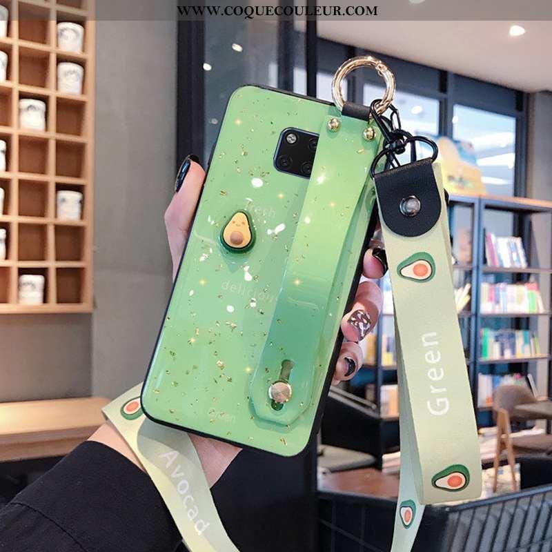 Étui Huawei Mate 20 Pro Ornements Suspendus Coque Tout Compris, Huawei Mate 20 Pro Créatif Vert Vert