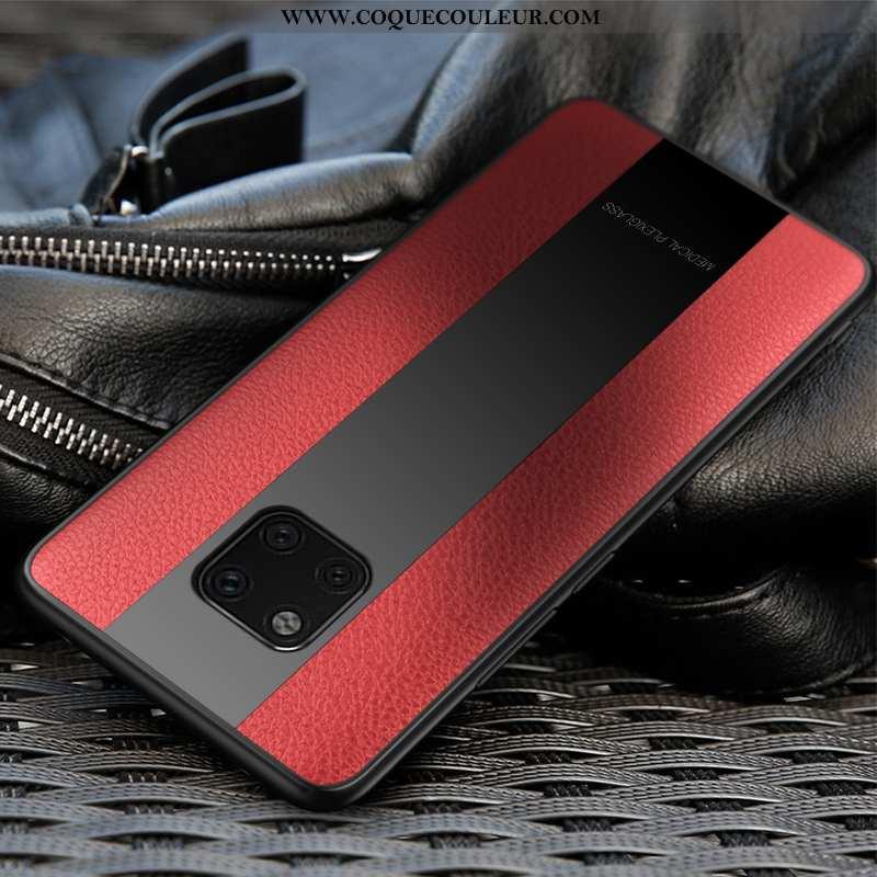 Housse Huawei Mate 20 Rs Cuir Tendance Incassable, Étui Huawei Mate 20 Rs Modèle Fleurie Téléphone P