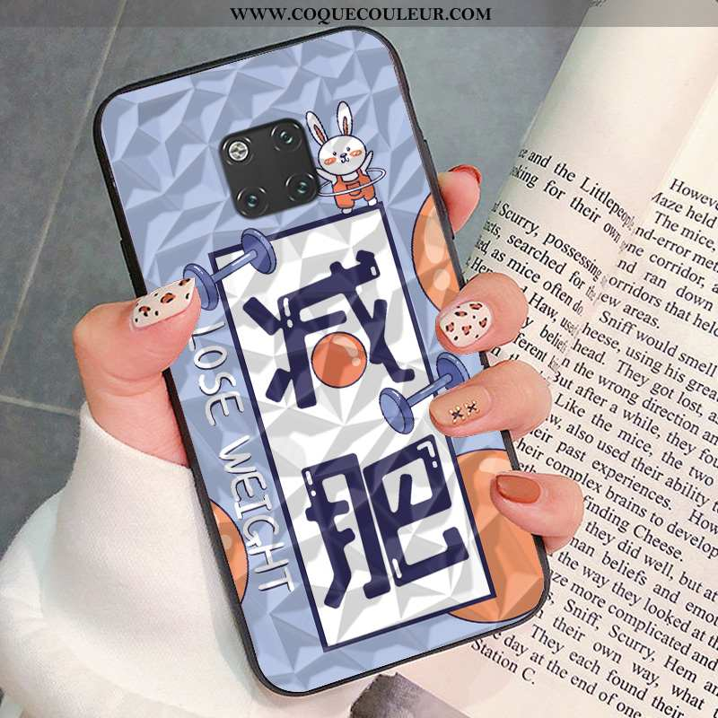 Étui Huawei Mate 20 Rs Protection Incassable, Coque Huawei Mate 20 Rs Personnalité Bleu