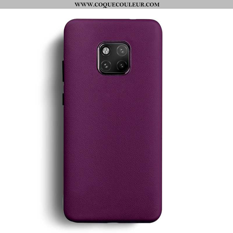 Housse Huawei Mate 20 Rs Cuir Violet Coque, Étui Huawei Mate 20 Rs Protection Personnalité
