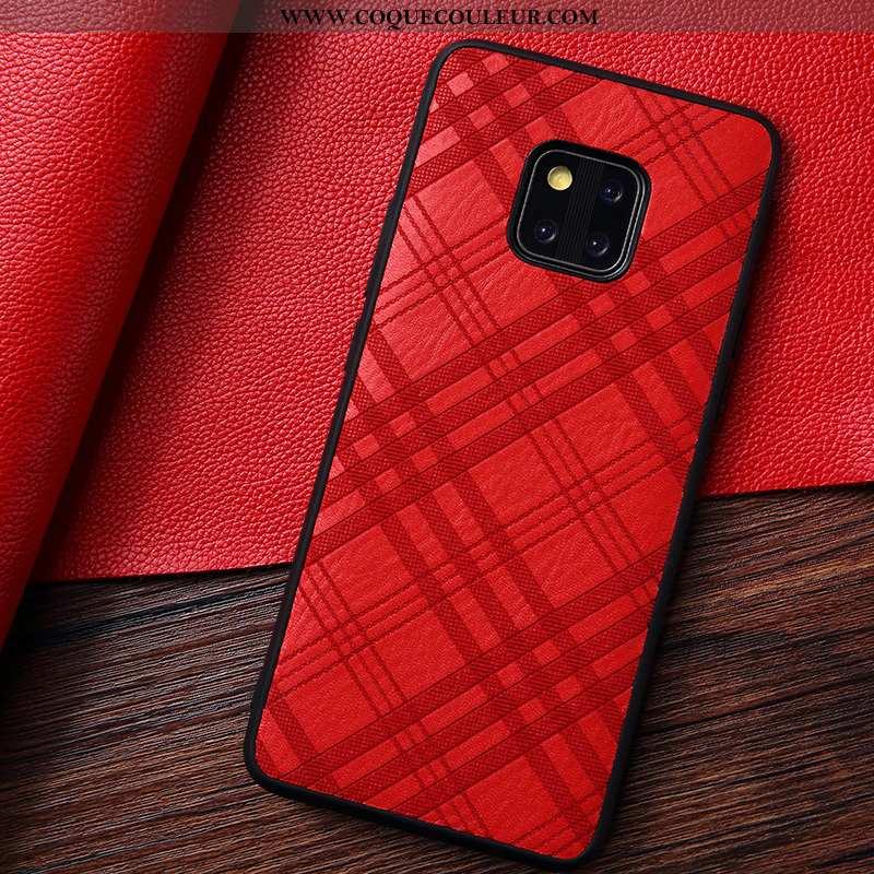 Étui Huawei Mate 20 Rs Coque Téléphone Portable Rouge, Huawei Mate 20 Rs Rouge