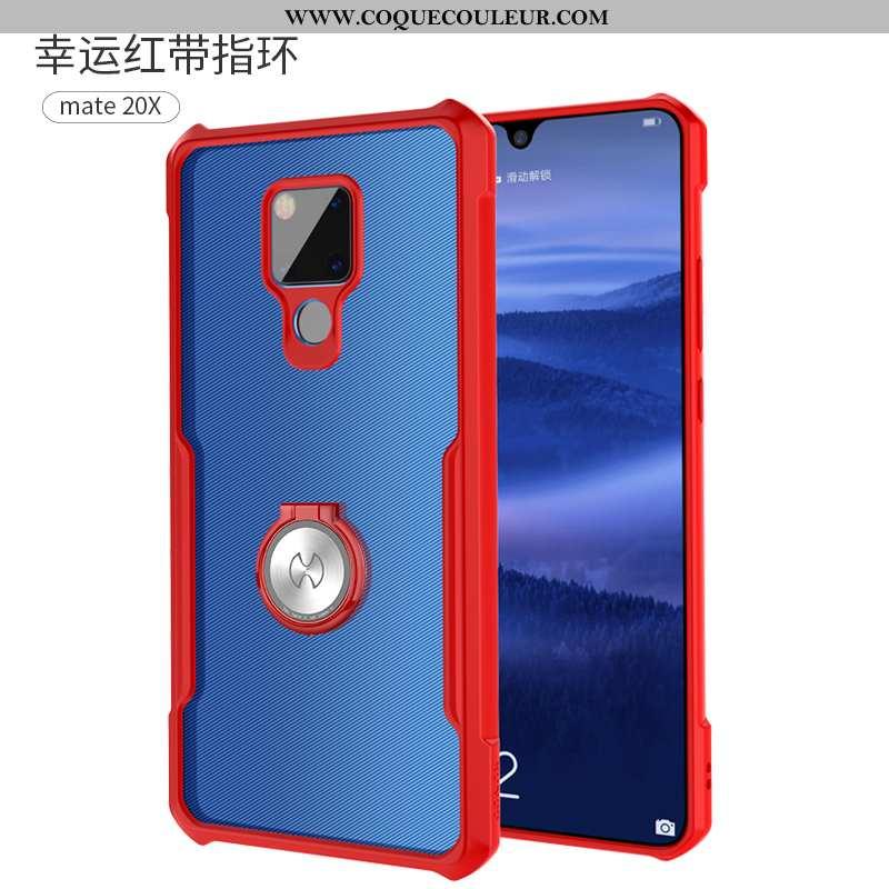 Étui Huawei Mate 20 X Silicone Personnalité, Coque Huawei Mate 20 X Protection Ballon Rouge