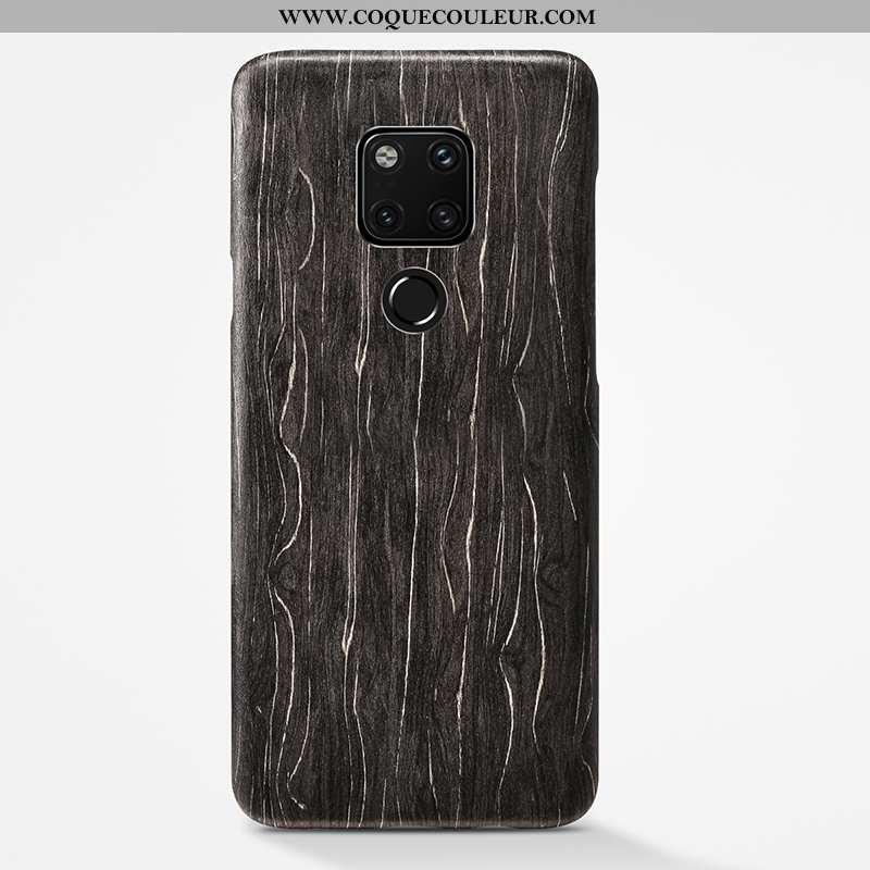 Étui Huawei Mate 20 X Protection Coque Personnalité, Huawei Mate 20 X Délavé En Daim Noir