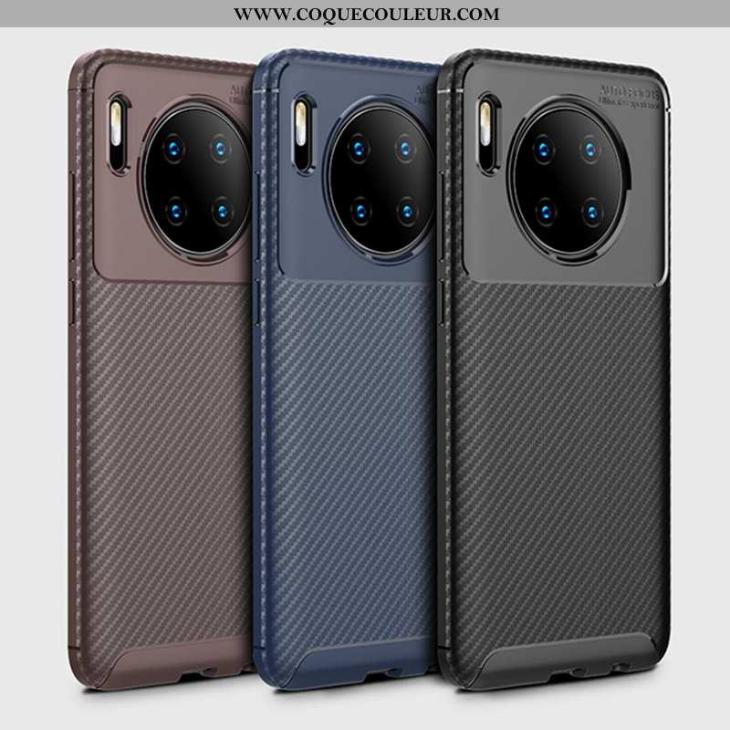 Housse Huawei Mate 30 Tendance Légères Coque, Étui Huawei Mate 30 Légère Protection Noir