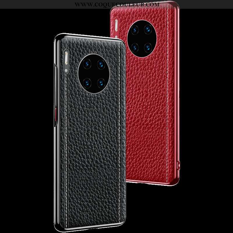 Housse Huawei Mate 30 Fluide Doux Coque Protection, Étui Huawei Mate 30 Silicone Téléphone Portable