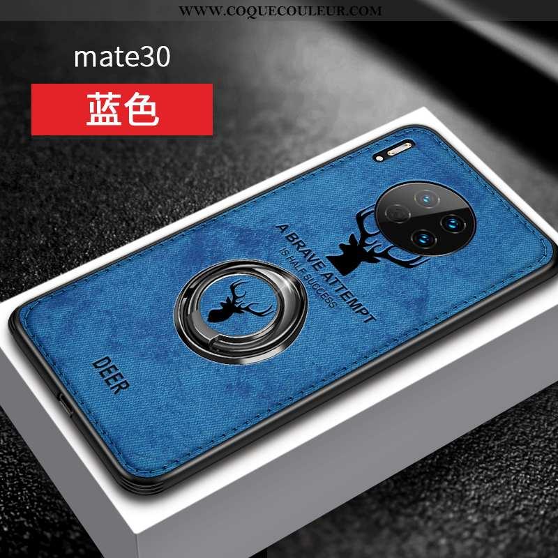 Étui Huawei Mate 30 Silicone Coque Tout Compris, Huawei Mate 30 Protection Personnalité Bleu