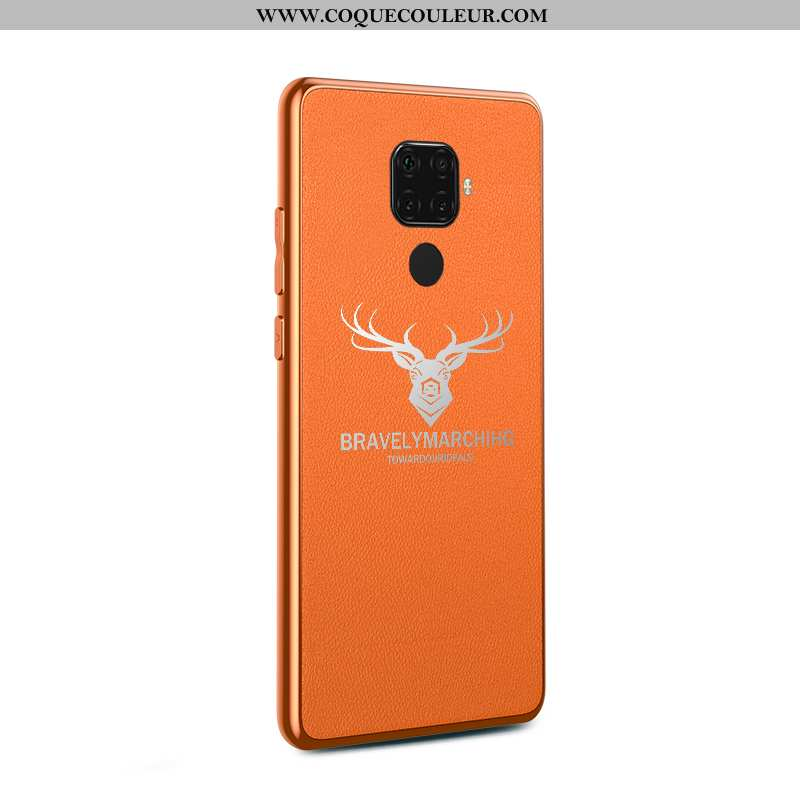 Coque Huawei Mate 30 Lite Modèle Fleurie Protection Business, Housse Huawei Mate 30 Lite Mode Tendan