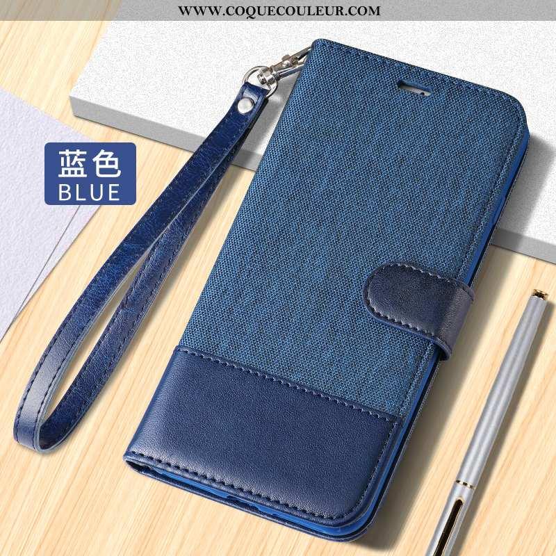 Coque Huawei Mate 30 Lite Protection Bleu Coque, Housse Huawei Mate 30 Lite Cuir Clamshell