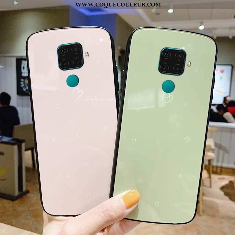 Housse Huawei Mate 30 Lite Personnalité Miroir Coque, Étui Huawei Mate 30 Lite Créatif Maquillage Ro