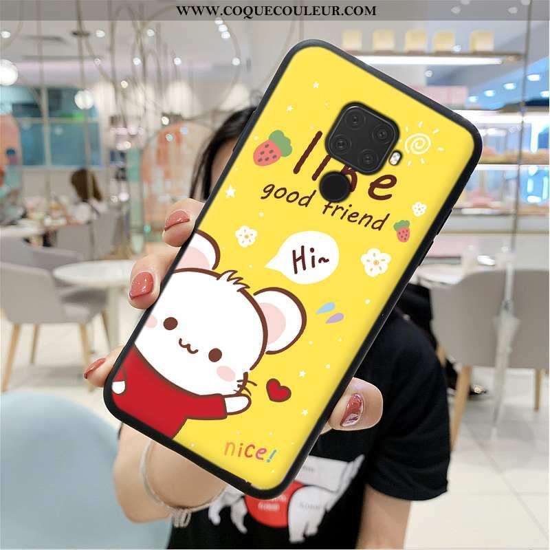 Coque Huawei Mate 30 Lite Silicone Étui Personnalité, Housse Huawei Mate 30 Lite Protection Simple J