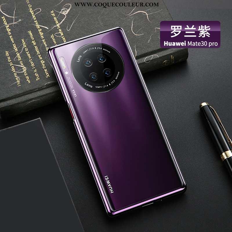 Coque Huawei Mate 30 Pro Ultra Personnalité, Housse Huawei Mate 30 Pro Légère Tout Compris Violet