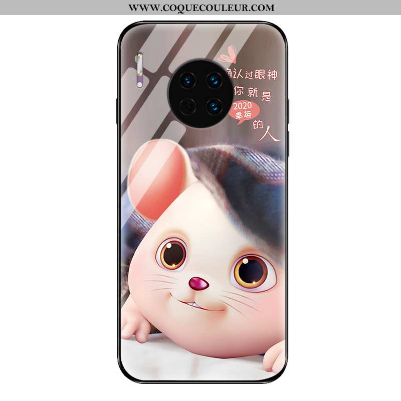 Coque Huawei Mate 30 Pro Silicone Téléphone Portable Simple, Housse Huawei Mate 30 Pro Protection Or