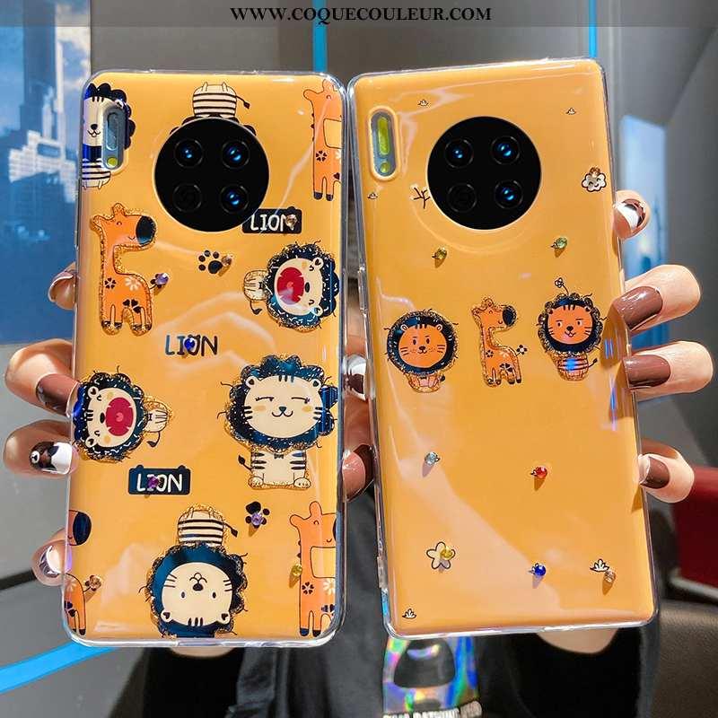Coque Huawei Mate 30 Pro Fluide Doux Dessin Animé Incassable, Housse Huawei Mate 30 Pro Silicone Cha