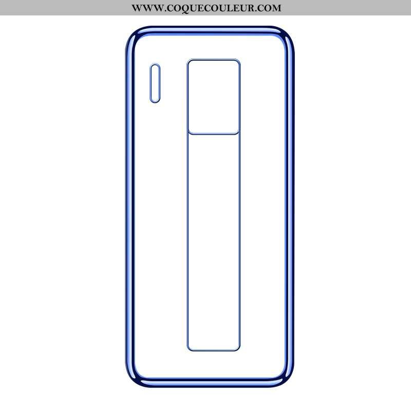 Étui Huawei Mate 30 Rs Fluide Doux Tout Compris Incassable, Coque Huawei Mate 30 Rs Transparent Télé