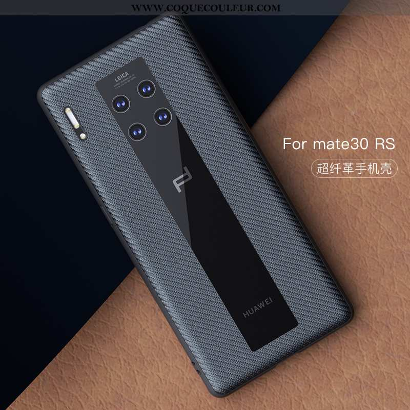 Coque Huawei Mate 30 Rs Protection Téléphone Portable Étui, Housse Huawei Mate 30 Rs Cuir Incassable