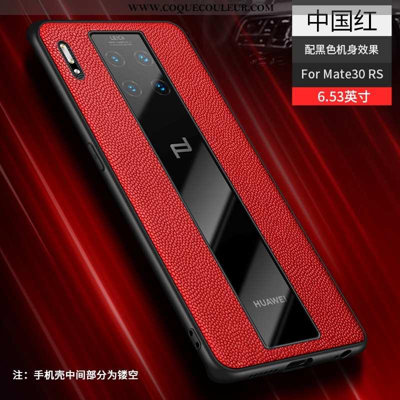 Housse Huawei Mate 30 Rs Cuir Véritable Transparent Tendance, Étui Huawei Mate 30 Rs Ultra Protectio