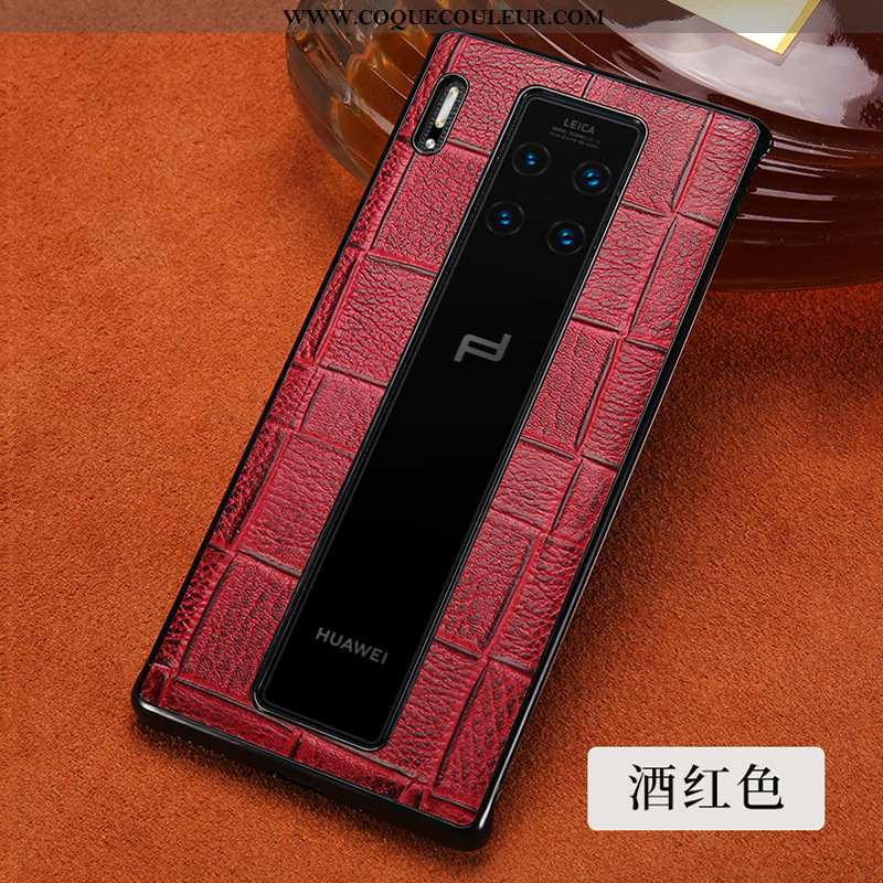 Étui Huawei Mate 30 Rs Protection Tout Compris Luxe, Coque Huawei Mate 30 Rs Créatif Téléphone Porta