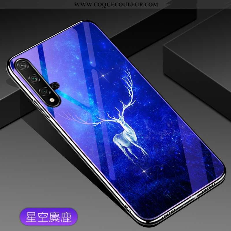 Coque Huawei Nova 5t Tendance Tout Compris, Housse Huawei Nova 5t Mode Téléphone Portable Bleu