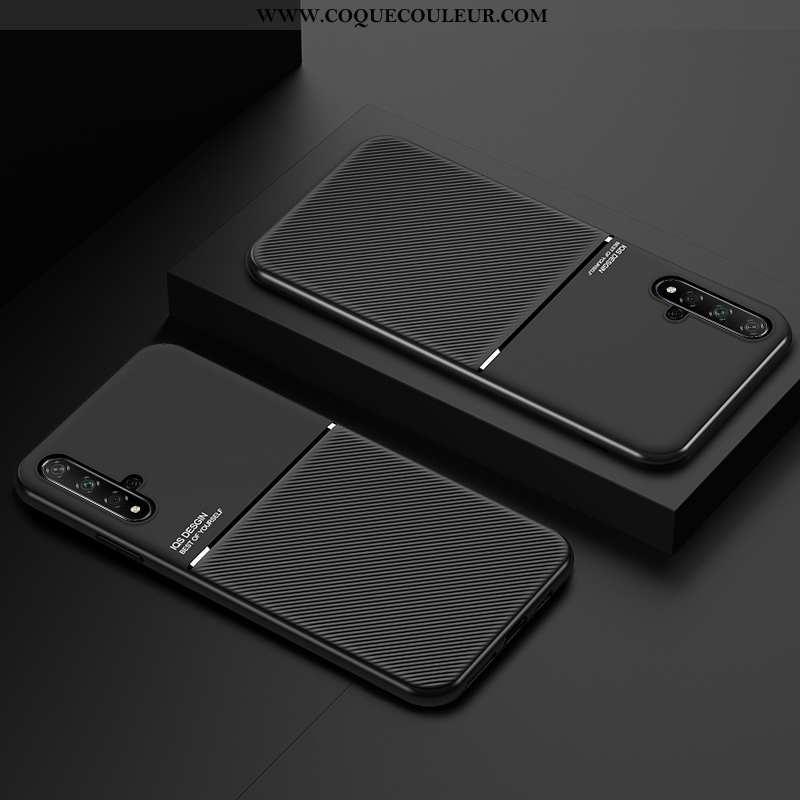 Étui Huawei Nova 5t Protection Fluide Doux Étui, Coque Huawei Nova 5t Ultra Invisible Noir