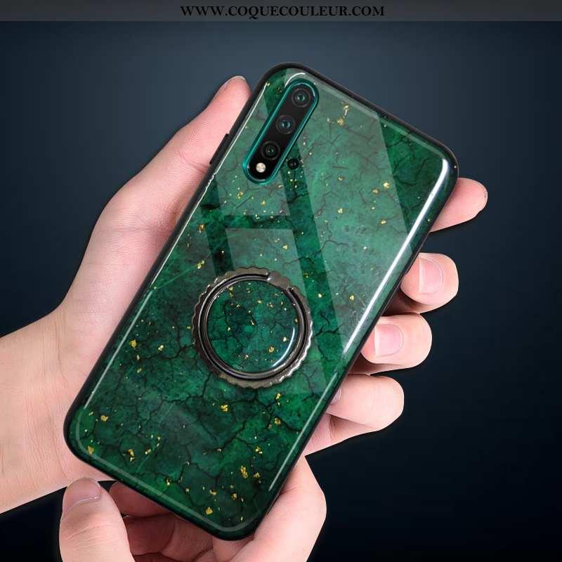 Coque Huawei Nova 5t Silicone Nouveau Fluide Doux, Housse Huawei Nova 5t Protection Simple Turquoise