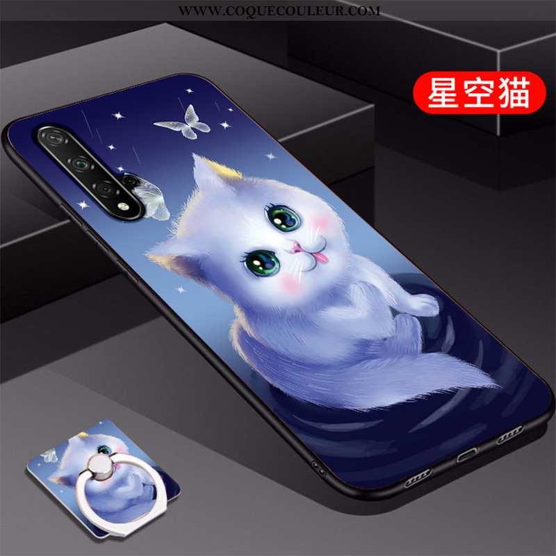Étui Huawei Nova 5t Mode Personnalité Étui, Coque Huawei Nova 5t Protection Bleu