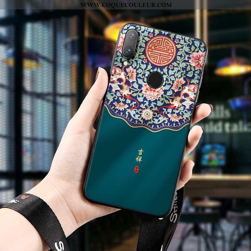Étui Huawei P Smart 2020 Protection Fluide Doux Nouveau, Coque Huawei P Smart 2020 Ornements Suspend