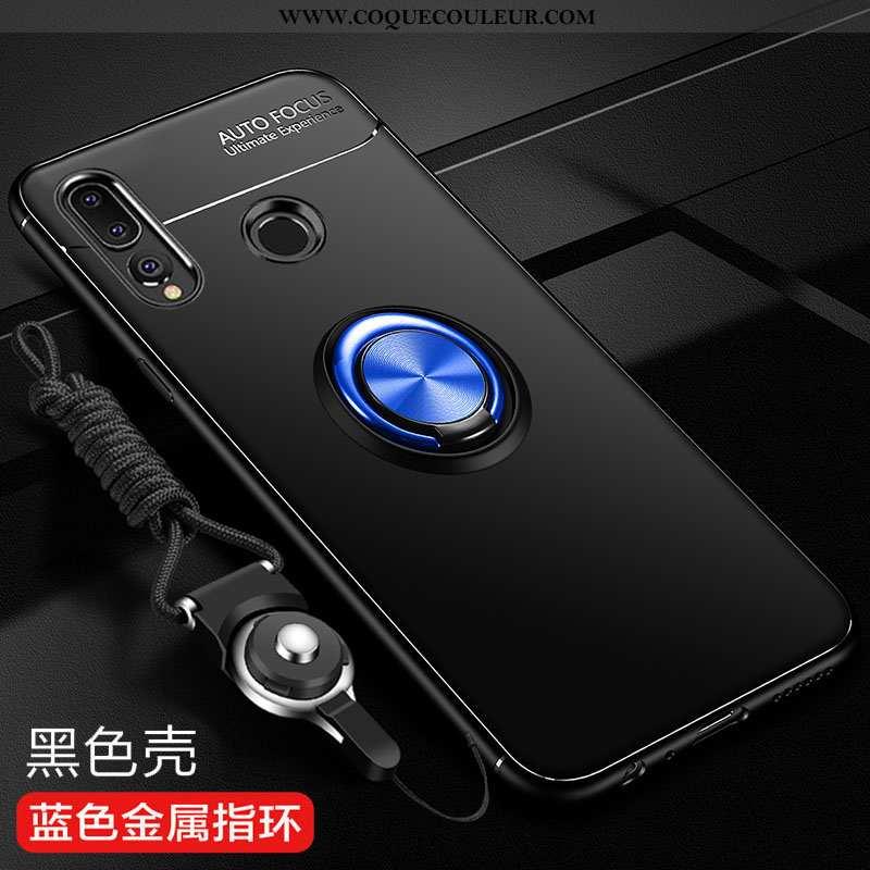 Étui Huawei P Smart+ 2020 Fluide Doux Incassable Protection, Coque Huawei P Smart+ 2020 Silicone Noi