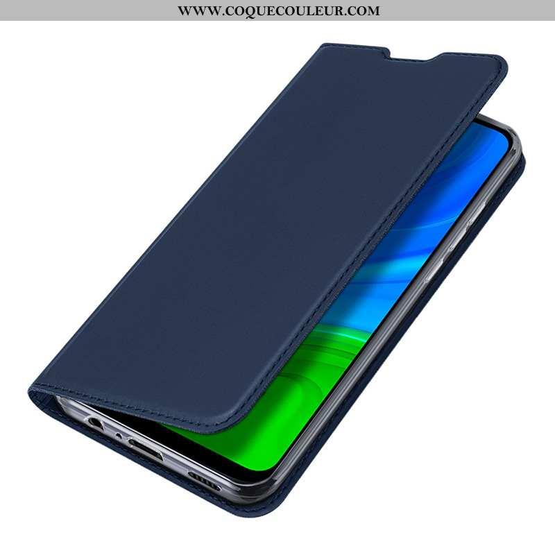 Housse Huawei P Smart 2020 Téléphone Portable Coque Bleu, Étui Huawei P Smart 2020 Bleu