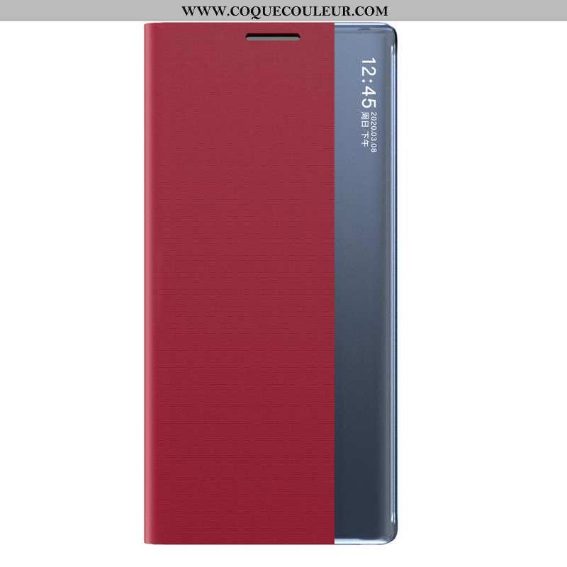 Coque Huawei P Smart 2020 Téléphone Portable Rouge, Housse Huawei P Smart 2020 Dormance Rouge