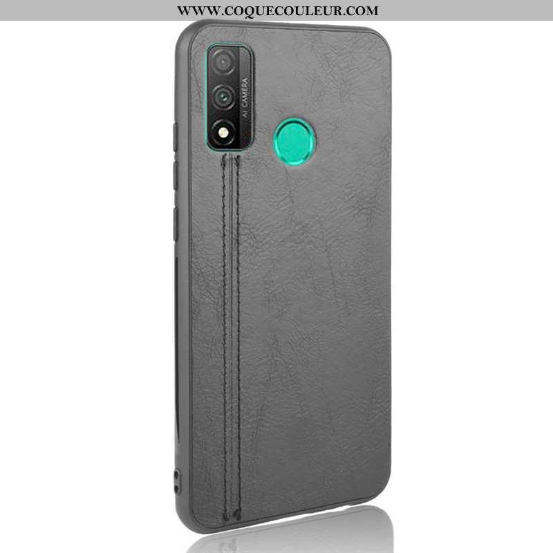 Étui Huawei P Smart 2020 Modèle Fleurie Petit Gris, Coque Huawei P Smart 2020 Protection Gris