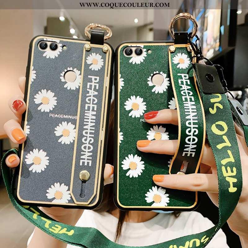 Coque Huawei P Smart Personnalité Téléphone Portable Délavé En Daim, Housse Huawei P Smart Créatif A