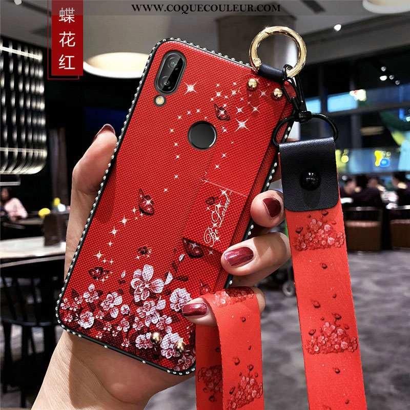 Étui Huawei P Smart+ Protection Téléphone Portable Tendance, Coque Huawei P Smart+ Ornements Suspend