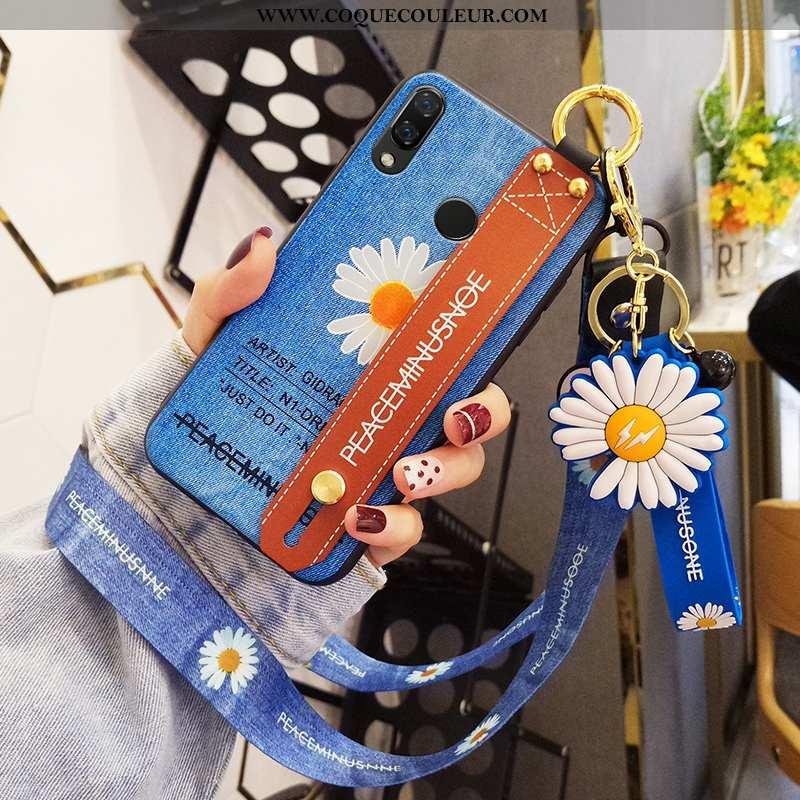 Étui Huawei P Smart+ Personnalité Tout Compris Tendance, Coque Huawei P Smart+ Créatif Protection Bl