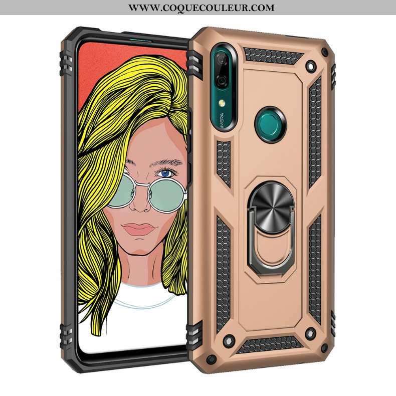 Étui Huawei P Smart Z Personnalité Or 2020, Coque Huawei P Smart Z Créatif Téléphone Portable Doré