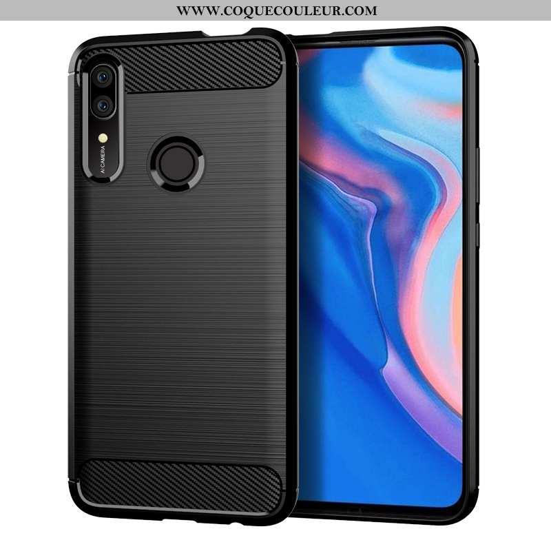 Coque Huawei P Smart Z Silicone Incassable Téléphone Portable, Housse Huawei P Smart Z Noir