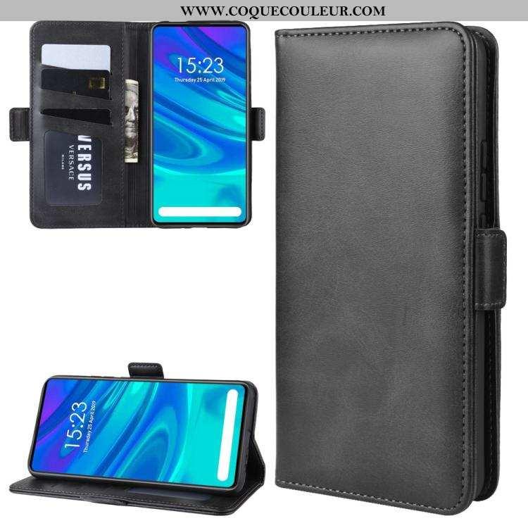 Coque Huawei P Smart Z Portefeuille Téléphone Portable Étui, Housse Huawei P Smart Z Modèle Fleurie