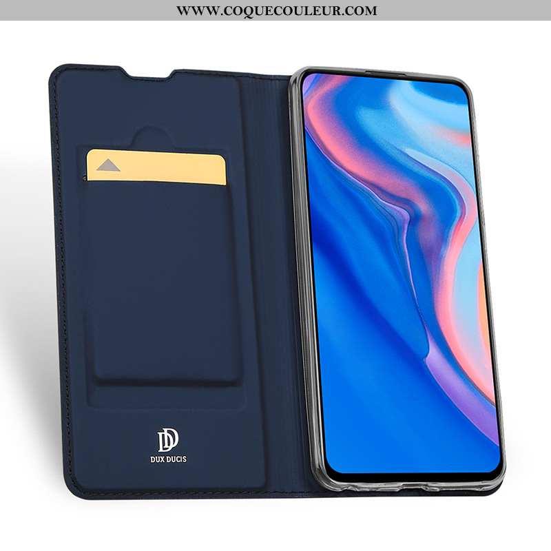 Coque Huawei P Smart Z Téléphone Portable Housse, Housse Huawei P Smart Z Bleu