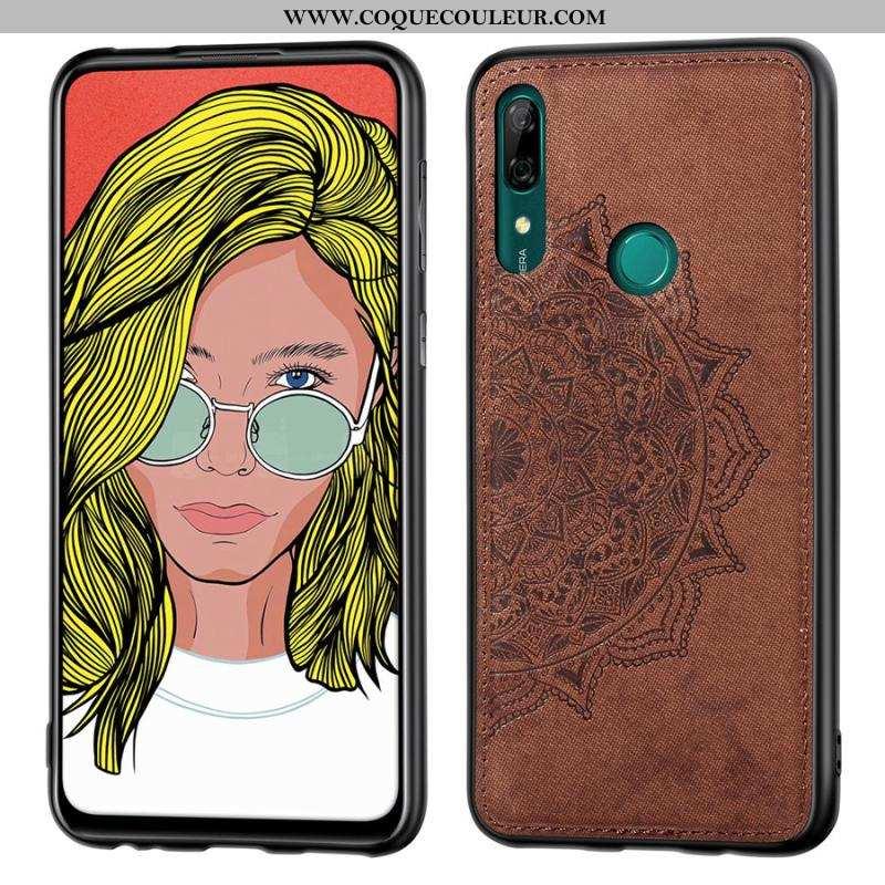 Housse Huawei P Smart Z Créatif Tissu Tout Compris, Étui Huawei P Smart Z Modèle Fleurie Téléphone P