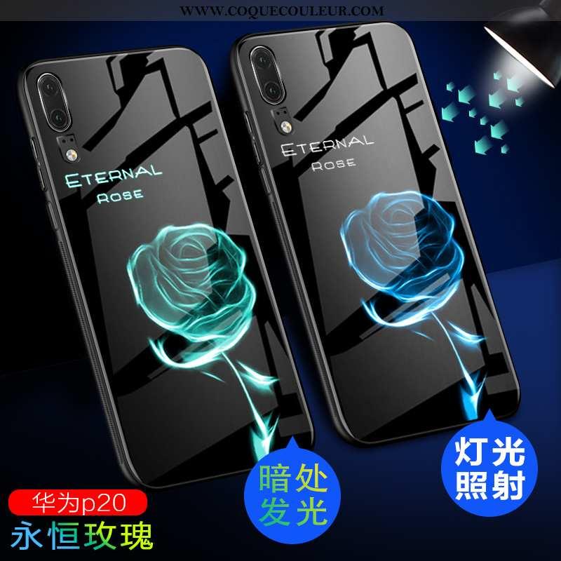 Housse Huawei P20 Légère Incassable Tendance, Étui Huawei P20 Protection Ultra Verte
