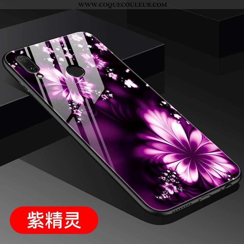 Coque Huawei P20 Lite Personnalité Miroir Vent, Housse Huawei P20 Lite Créatif Tout Compris Violet