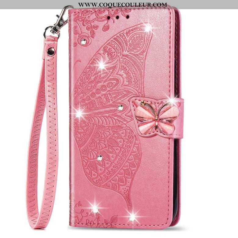 Étui Huawei P20 Lite Protection Coque Silicone, Huawei P20 Lite Cuir Téléphone Portable Rose
