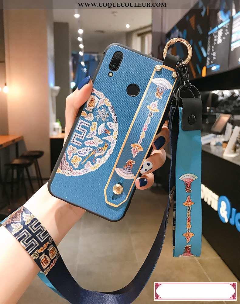 Étui Huawei P20 Lite Fluide Doux Ornements Suspendus Net Rouge, Coque Huawei P20 Lite Silicone Télép