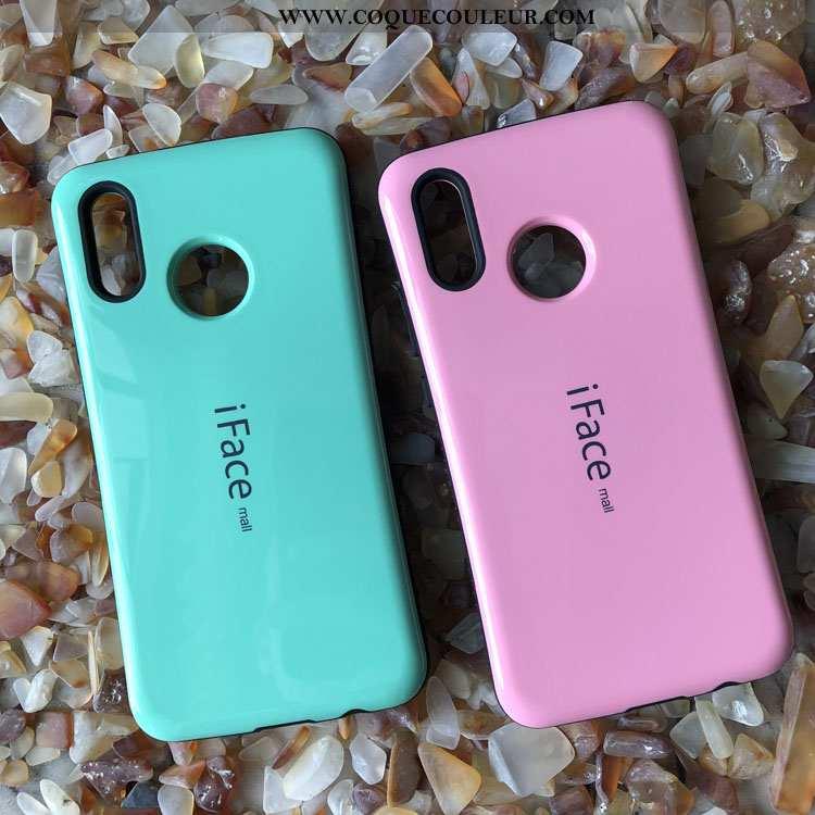 Coque Huawei P20 Lite Étui Difficile Téléphone Portable, Housse Huawei P20 Lite Tout Compris Rose