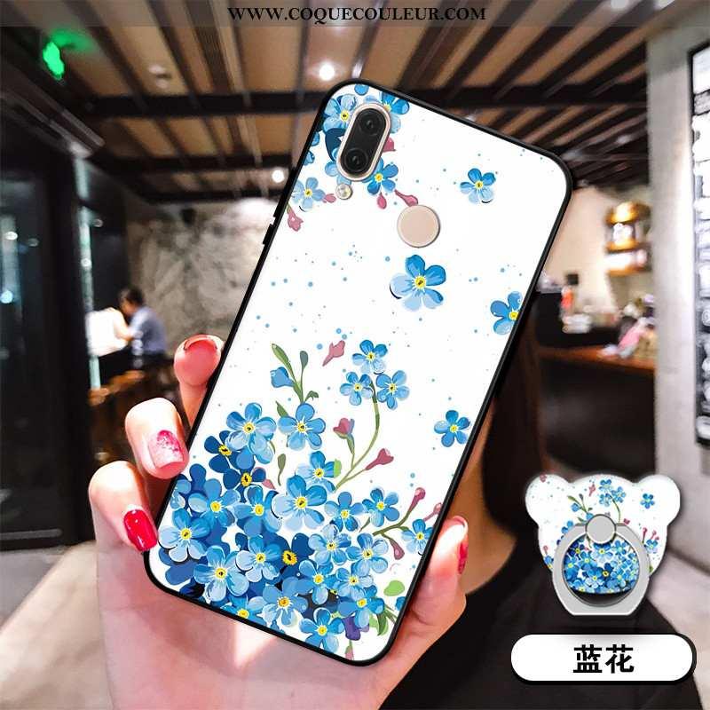 Housse Huawei P20 Lite Silicone Incassable Bleu, Étui Huawei P20 Lite Téléphone Portable Coque Bleu