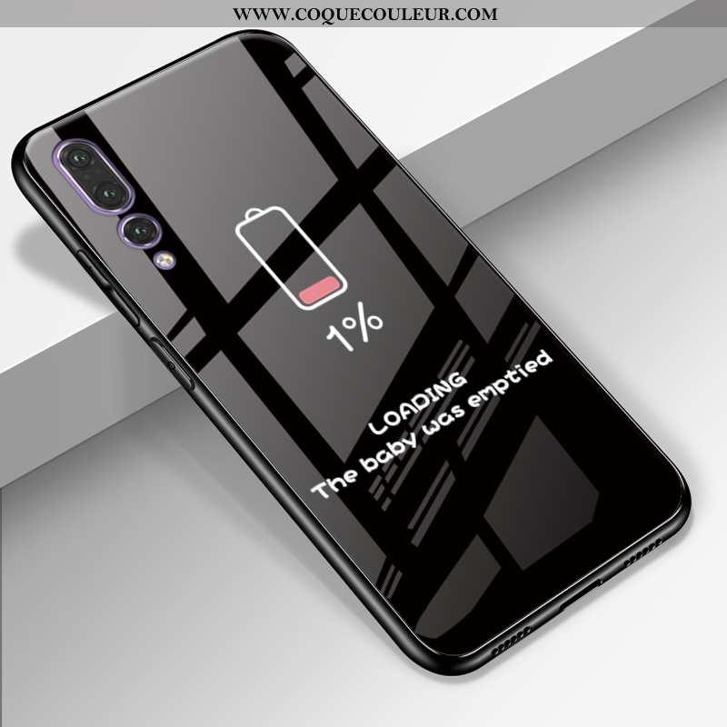 Coque Huawei P20 Pro Dessin Animé Mode Téléphone Portable, Housse Huawei P20 Pro Cuir Véritable Sili