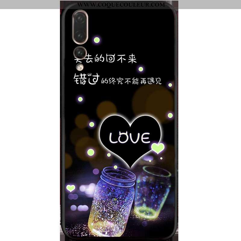 Coque Huawei P20 Pro Tendance Téléphone Portable Dessin Animé, Housse Huawei P20 Pro Silicone Violet