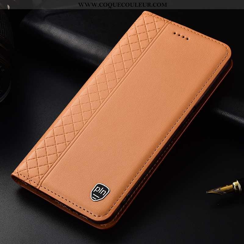 Housse Huawei P30 Cuir Véritable Tout Compris, Étui Huawei P30 Protection Khaki